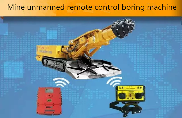 Mine unmanned remote control boring manchine-Beijing Hot Mining Tech Co.,Ltd