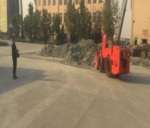 Application of a cubic electric scraper wireless remote control system-Beijing Hot Mining Tech Co.,Ltd(1)