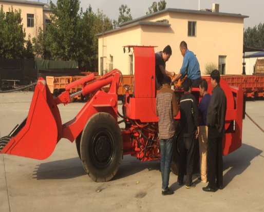 Application of a cubic electric scraper wireless remote control system-Beijing Hot Mining Tech Co.,Ltd