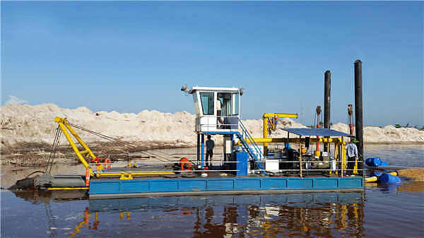 10 inch cutter suction dredger_HOT Mining