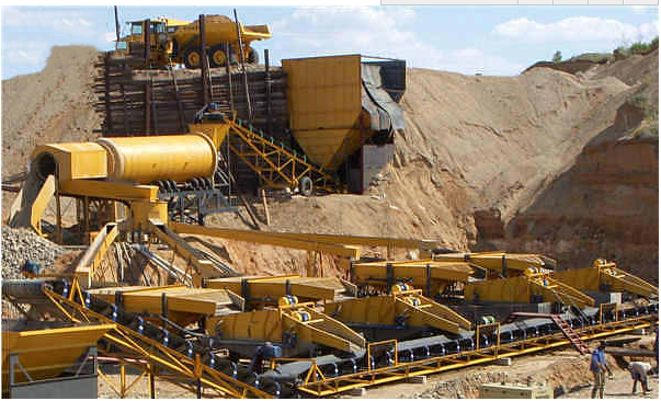 Large_Gold_ Diamond_ Washing_ Plant_HOT_Mining