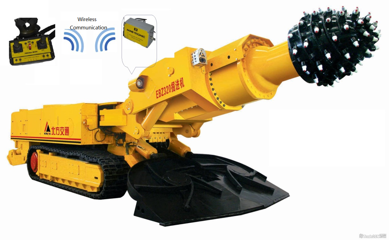 Intelligent Mining Line of Sight LHD Radio Remote Control System