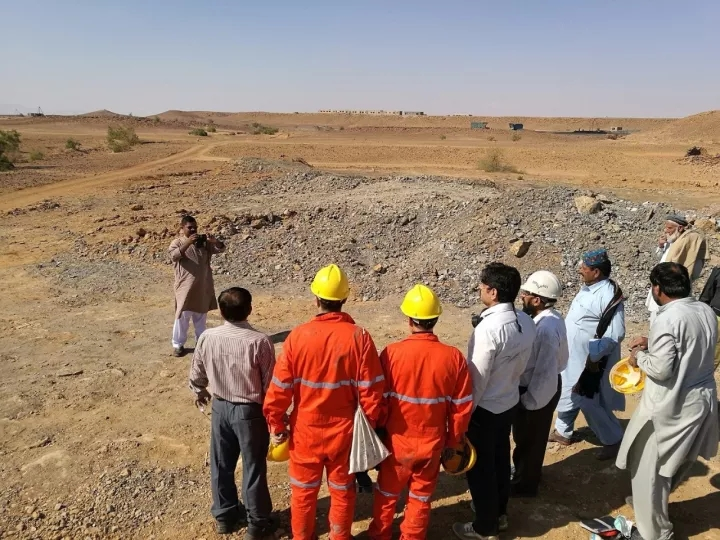 HOT Engineers Went To Pakistan for Coal Mining On-site Investigation