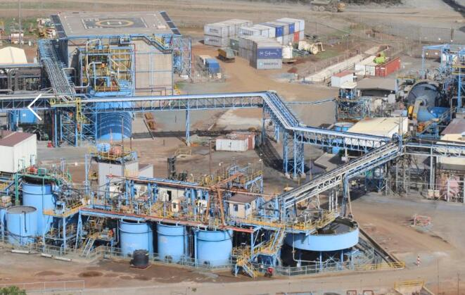 gold CIL plant-HOT Mining